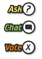 ASK CHAT VOTE